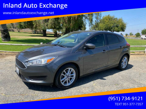 2018 Ford Focus for sale at Inland Auto Exchange in Norco CA