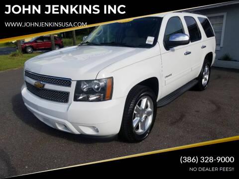 2013 Chevrolet Tahoe for sale at JOHN JENKINS INC in Palatka FL
