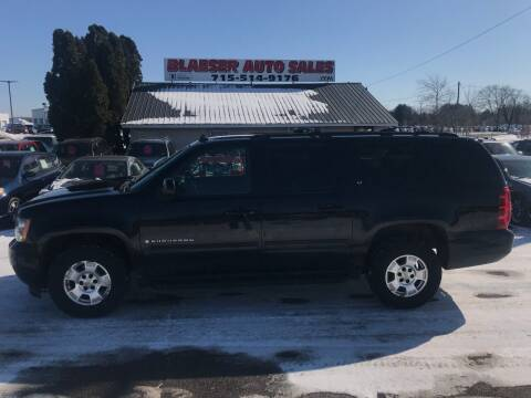 2009 Chevrolet Suburban for sale at BLAESER AUTO LLC in Chippewa Falls WI