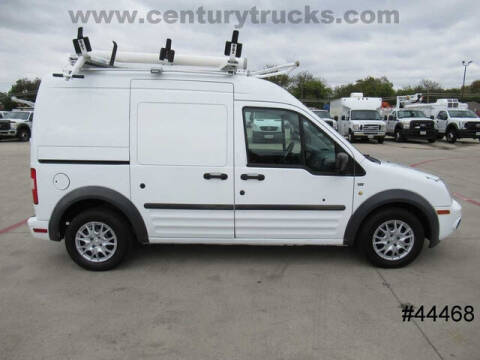 2013 Ford Transit Connect for sale at CENTURY TRUCKS & VANS in Grand Prairie TX
