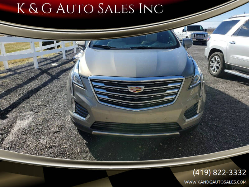2019 Cadillac XT5 for sale at K & G Auto Sales Inc in Delta OH