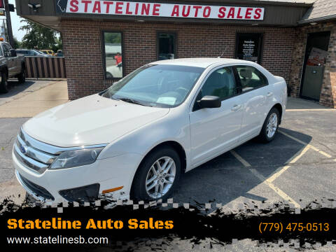 2011 Ford Fusion for sale at Stateline Auto Sales in South Beloit IL