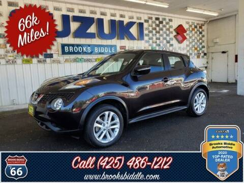 2016 Nissan JUKE for sale at BROOKS BIDDLE AUTOMOTIVE in Bothell WA