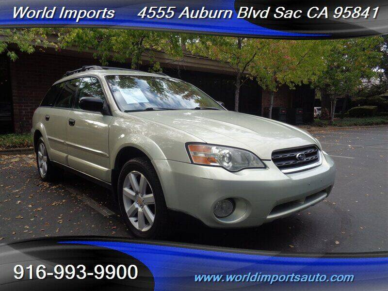 2006 Subaru Outback for sale at World Imports in Sacramento CA