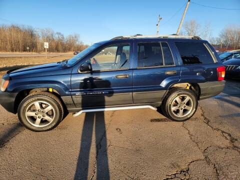 2004 Jeep Grand Cherokee for sale at Sunshine Auto Sales in Menasha WI