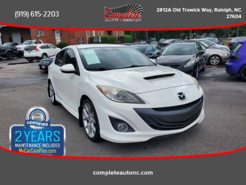 2012 Mazda MAZDASPEED3 for sale at Complete Auto Center , Inc in Raleigh NC