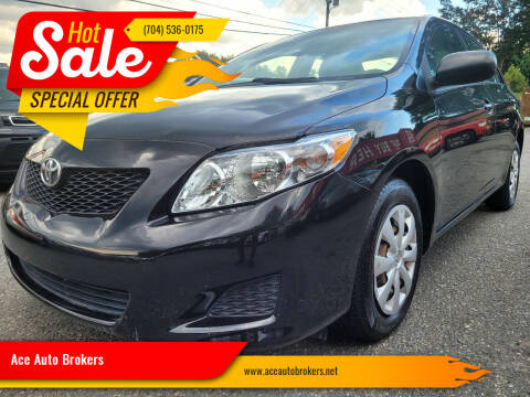 2009 Toyota Corolla for sale at Ace Auto Brokers in Charlotte NC