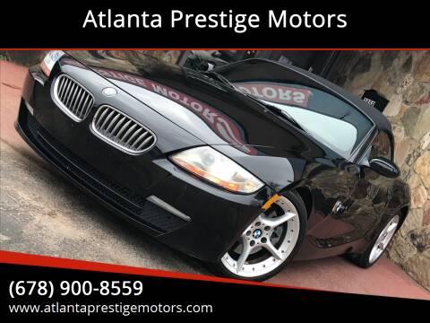 2007 BMW Z4 for sale at Atlanta Prestige Motors in Decatur GA