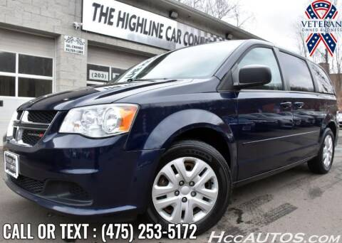 2015 Dodge Grand Caravan for sale at The Highline Car Connection in Waterbury CT