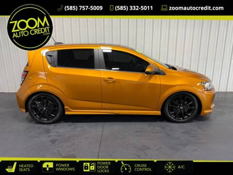 2017 Chevrolet Sonic for sale at ZoomAutoCredit.com in Elba NY
