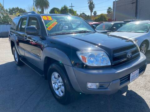 2003 Toyota 4Runner for sale at North County Auto in Oceanside CA