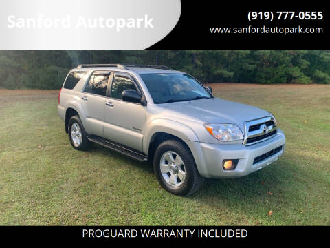2007 Toyota 4Runner for sale at Sanford Autopark in Sanford NC