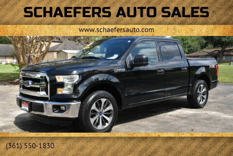 2015 Ford F-150 for sale at Schaefers Auto Sales in Victoria TX