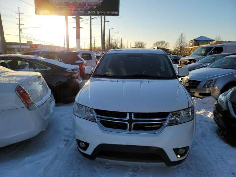 2012 Dodge Journey for sale at Washington Auto Group in Waukegan IL
