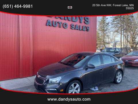 2016 Chevrolet Cruze Limited for sale at Dandy's Auto Sales in Forest Lake MN