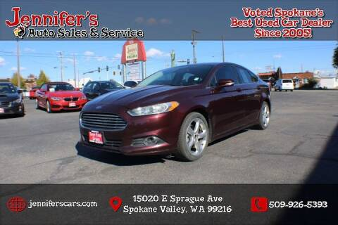 2013 Ford Fusion for sale at Jennifer's Auto Sales in Spokane Valley WA