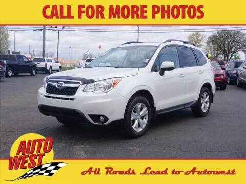 2016 Subaru Forester for sale at Autowest of Plainwell in Plainwell MI