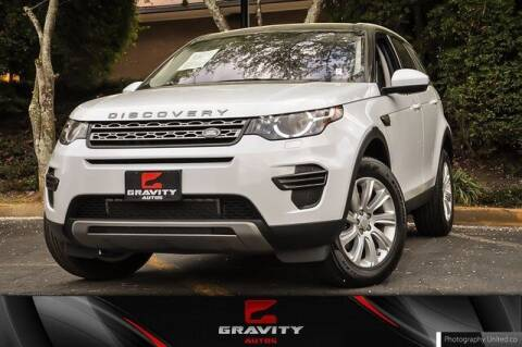 2017 Land Rover Discovery Sport for sale at Gravity Autos Atlanta in Atlanta GA