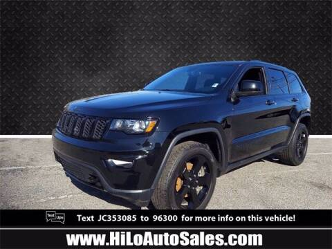 2018 Jeep Grand Cherokee for sale at Hi-Lo Auto Sales in Frederick MD