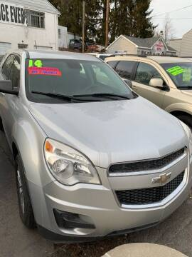 2014 Chevrolet Equinox for sale at Alpha Motors in Scranton PA