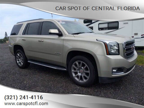 2017 GMC Yukon for sale at Car Spot Of Central Florida in Melbourne FL