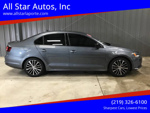 2016 Volkswagen Jetta for sale at All Star Autos, Inc in La Porte IN