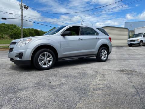 2013 Chevrolet Equinox for sale at K & P Used Cars, Inc. in Philadelphia TN