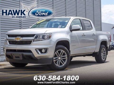 2019 Chevrolet Colorado for sale at Hawk Ford of St. Charles in Saint Charles IL