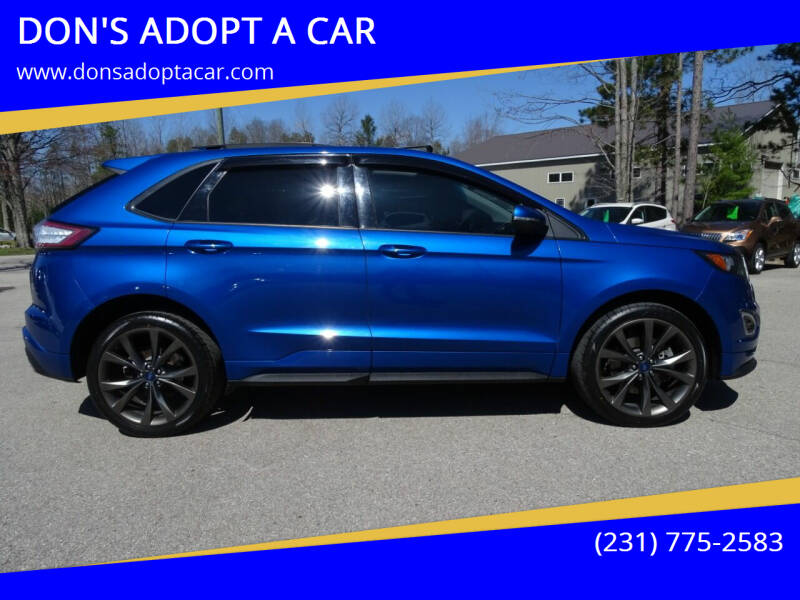 2018 Ford Edge for sale at DON'S ADOPT A CAR in Cadillac MI