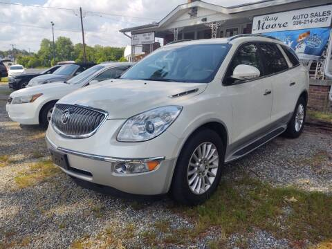 2012 Buick Enclave for sale at Ray Moore Auto Sales in Graham NC