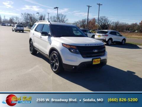 2015 Ford Explorer for sale at RICK BALL FORD in Sedalia MO