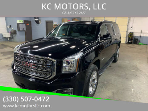 2017 GMC Yukon XL for sale at KC MOTORS, LLC in Boardman OH