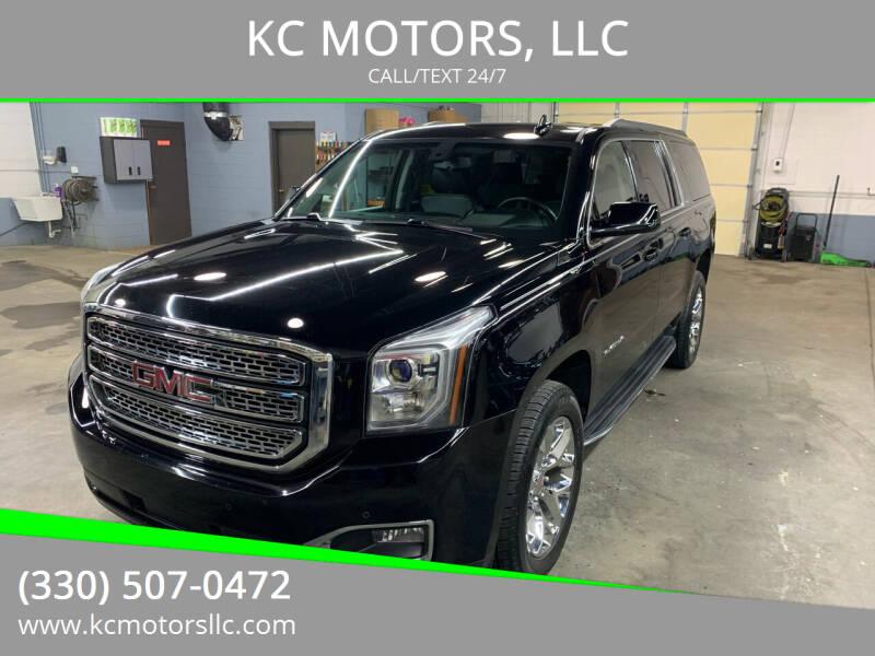 2017 GMC Yukon XL for sale at KC MOTORS, LLC in Boardman OH