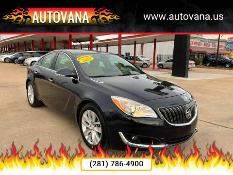 2014 Buick Regal for sale at AutoVana in Humble TX