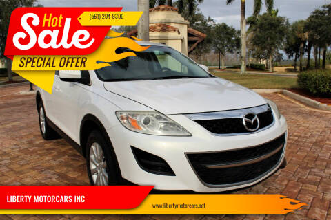 2010 Mazda CX-9 for sale at LIBERTY MOTORCARS INC in Royal Palm Beach FL