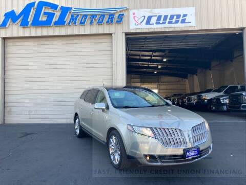 2010 Lincoln MKT for sale at MGI Motors in Sacramento CA