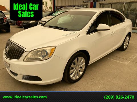 2015 Buick Verano for sale at Ideal Car Sales in Los Banos CA