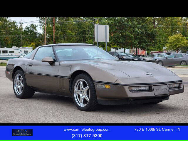 1985 Chevrolet Corvette for sale at Carmel Auto Group in Indianapolis IN