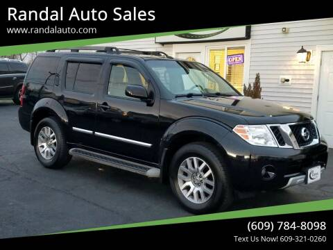 2010 Nissan Pathfinder for sale at Randal Auto Sales in Eastampton NJ