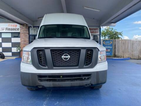 2013 Nissan NV Cargo for sale at ELITE AUTO WORLD in Fort Lauderdale FL