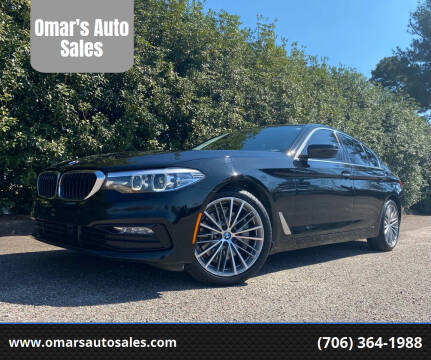 2018 BMW 5 Series for sale at Omar's Auto Sales in Martinez GA