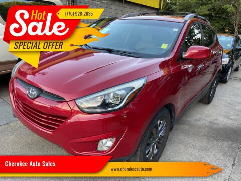 2014 Hyundai Tucson for sale at Cherokee Auto Sales in Acworth GA