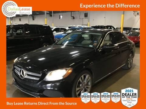 2017 Mercedes-Benz C-Class for sale at Dallas Auto Finance in Dallas TX