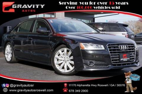 2018 Audi A8 L for sale at Gravity Autos Roswell in Roswell GA