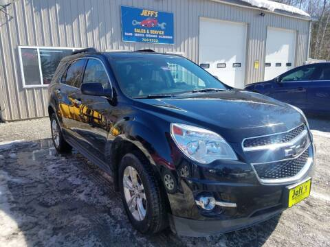 2013 Chevrolet Equinox for sale at Jeff's Sales & Service in Presque Isle ME