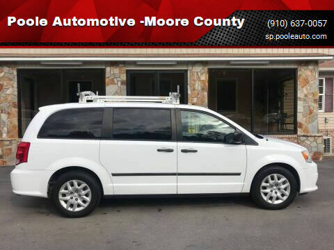 2014 RAM C/V for sale at Poole Automotive in Laurinburg NC