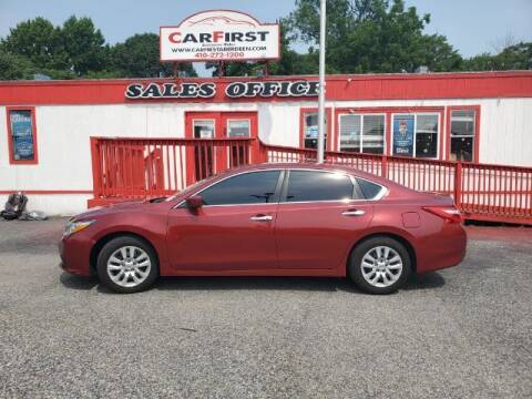 2016 Nissan Altima for sale at CARFIRST ABERDEEN in Aberdeen MD