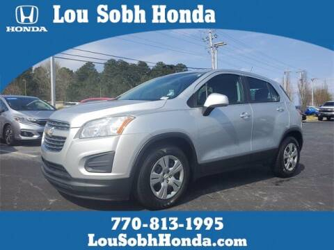 2016 Chevrolet Trax for sale at Lou Sobh Honda in Cumming GA