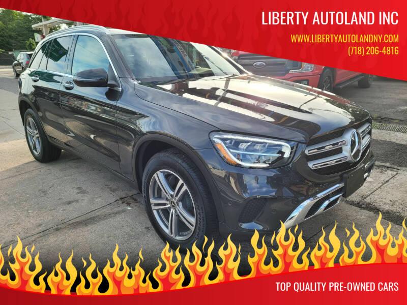 2021 Mercedes-Benz GLC for sale at LIBERTY AUTOLAND INC - LIBERTY AUTOLAND II INC in Queens Villiage NY