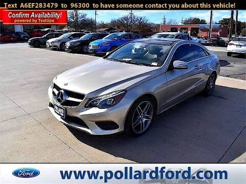 2014 Mercedes-Benz E-Class for sale at South Plains Autoplex by RANDY BUCHANAN in Lubbock TX